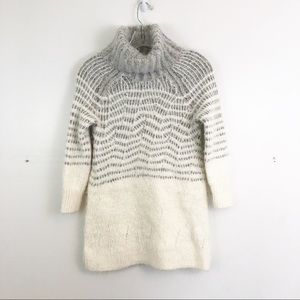 Sleeping On Snow Eyelash Turtleneck Sweater
